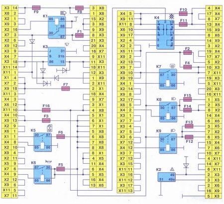 Схема подключения аварийной сигнализации фото 872