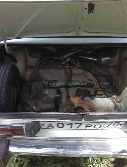 багажник в классике ваз 21063