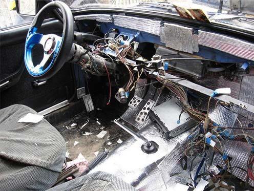 Шумоизоляция автомобиля своими руками ваз 2107