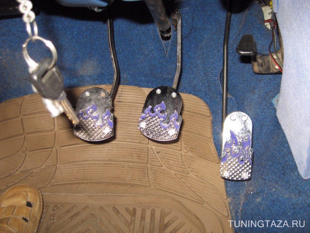 Накладки на педали ваз 2106