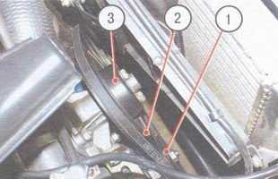 Проверка и регулировка натяжения ремня привода генератора и его замена ВАЗ 2106
