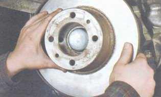 статья про Замена тормозного диска на автомобиле ВАЗ 2106