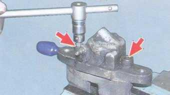 статья про ремонт тормозного суппорта переднего колеса на автомобиле ваз 2108, ваз 2109, ваз 21099