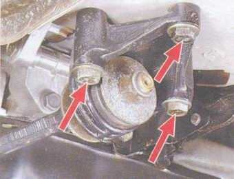 статья про замена растяжки передних стоек на автомобиле ваз 2108, ваз 2109, ваз 21099
