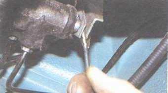 статья про регулировка привода регулятора давления тормозов на автомобилях ваз 2108, ваз 2109, ваз 21099
