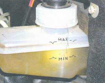 статья про замена тормозной жидкости на автомобиле ваз 2108, ваз 2109, ваз 21099