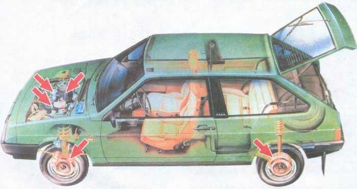 статья про автомобиль ваз 2108, ваз 2109, ваз 21099 плохо разгонятеся