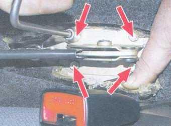 статья про ремонт рычага ручного тормоза на автомобиле ваз 2108, ваз 2109, ваз 21099