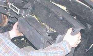 статья про снятие и установка «высокой» панели приборов автомобили ваз 2108, ваз 2109, ваз 21099