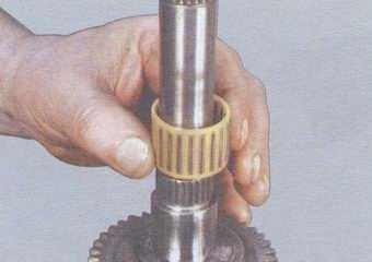 статья про ремонт вторичного вала коробки передач на автомобилях ваз 2108, ваз 2109, ваз 21099