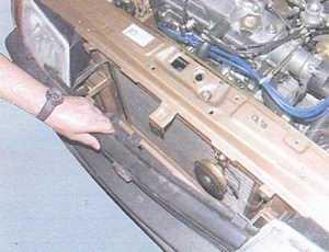 статья про снятие и установка решетки радиатора автомобили ваз 2108, ваз 2109, ваз 21099