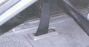 статья про замена заднего ремня безопасности автомобилей ваз 2108, ваз 2109 с кузовом хэтчбек