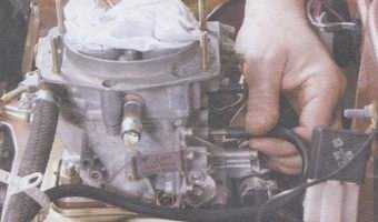 статья про снятие и установка карбюратора на автомобилях ваз 2108, ваз 2109, ваз 21099
