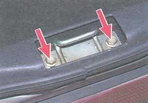 статья про замена и регулировка замка крышки багажника ваз 21099