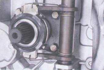 статья про замена выжимного подшипника выключения сцепления на автомобилях ваз 2108, ваз 2109, ваз 21099