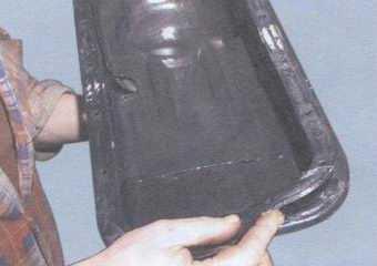 статья про замена прокладки масляного картера двигателя на автомобилях ваз 2108, ваз 2109, ваз 21099