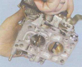 статья про проверка работы механизма блокировки второй камеры карбюратора на автомобилях ваз 2108, ваз 2109, ваз 21099