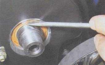 статья про замена сальника распредвала на автомобилях ваз 2108, ваз 2109, ваз 21099