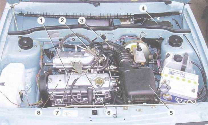 статья про неисправности системы впрыска топлива на автомобилях ваз 2108, ваз 2109, ваз 21099
