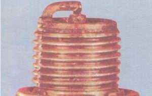 статья про диагностика состояния двигателя автомобиля ваз 2108, ваз 2109, ваз 21099 по внешнему виду свечей зажигания