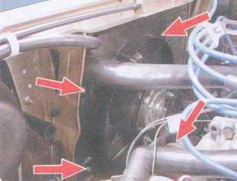 статья про замена радиатора системы охлаждения на автомобилях ваз 2108, ваз 2109, ваз 21099