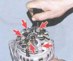 статья про ремонт генератора 94.3701 - автомобили ваз 2108, ваз 2109, ваз 21099