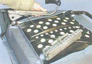 статья про снятие и установка переднего сиденья на автомобилях ваз 2108, ваз 2109, ваз 21099