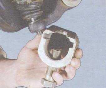 статья про замена шаровой опоры на автомобиле ваз 2108, ваз 2109, ваз 21099