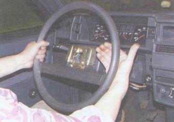 статья про рулевое колесо автомобиля ваз 2108, ваз 2109, ваз 21099 - снятие и установка