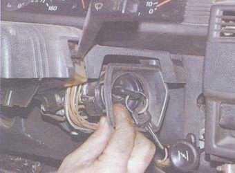 статья про рулевая колонка автомобиля ваз 2108, ваз 2109, ваз 21099 - снятие, установка и разборка