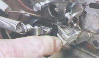 статья про регулировка привода дроссельной заслонки карбюратора на автомобилях ваз 2108, ваз 2109, ваз 21099