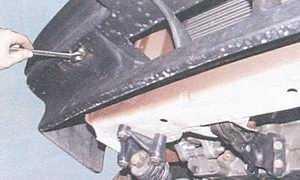 статья про замена переднего бампера автомобили ваз 2108, ваз 2109, ваз 21099