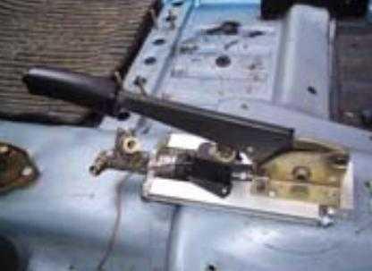 Тюнинг ручной тормозной системы Ваз 2109
