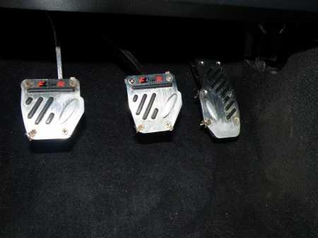 Установка накладок на педали Ваз 21099 с подсветкой