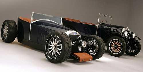 статья про Хот-род Volvo: углепластиковый кузов и кожаный чемодан [фото]