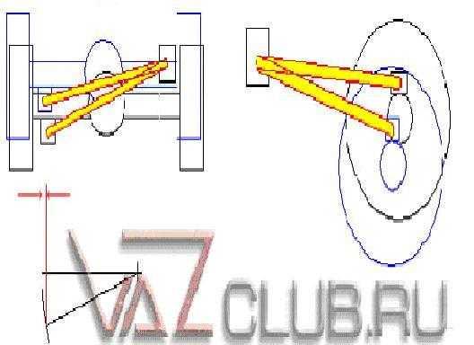 регулируемая тяга Панара на ВАЗ 2107 ваз 2106 ваз 2101 и другую классику
