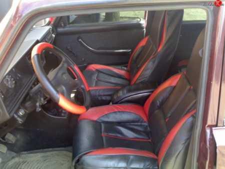 кожаные кресла в  Ваз 2107, фото