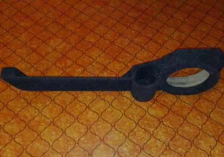 статья про Изготовление подстаканника в акустический подиум ВАЗ 2110