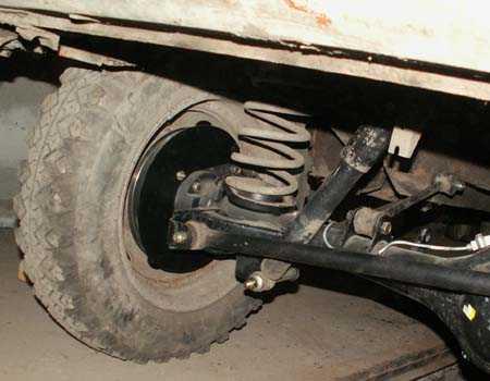 Задние дисковые тормоза на Ваз Нива