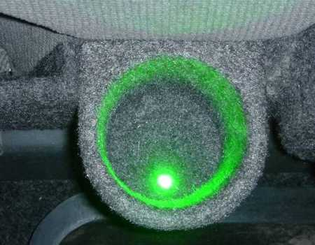 Подстаканники с подсветкой на Ваз 2112