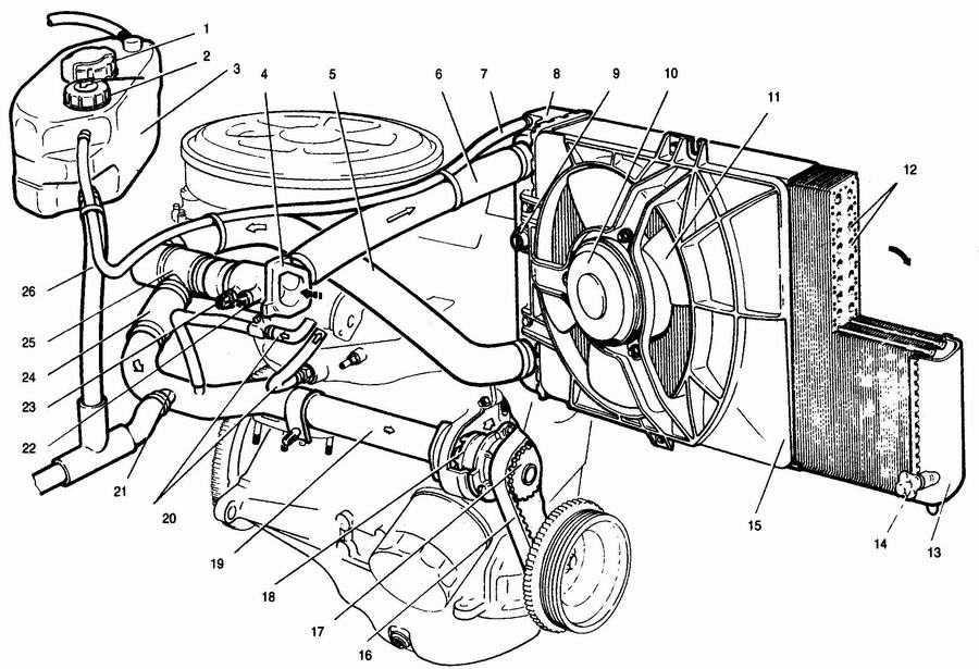 Ваз 2112 схема системы смазки фото 656