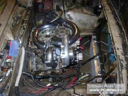 Устанавливаем двигатель ВАЗ 2112 в 2106 с турбиной