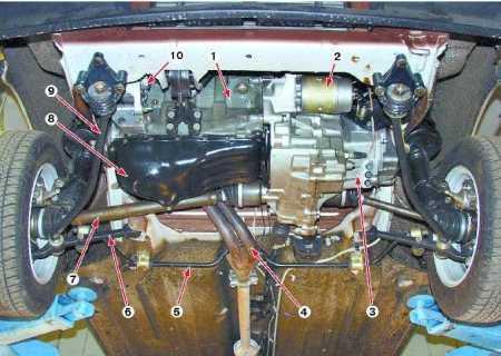 Ремонт передней подвески Ваз 21099