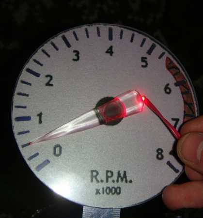 светодиодный тахометр для Ваз 2110