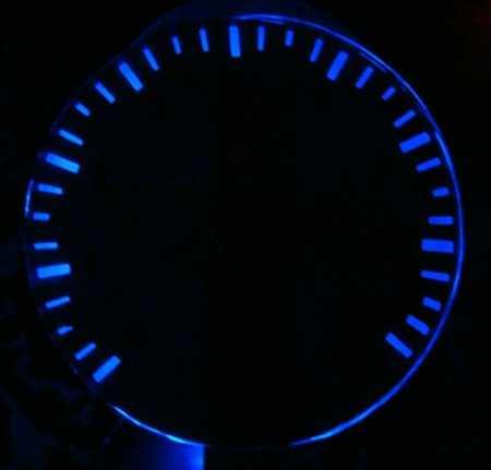 светодиодный тахометр с подсветкой для Ваз 2110