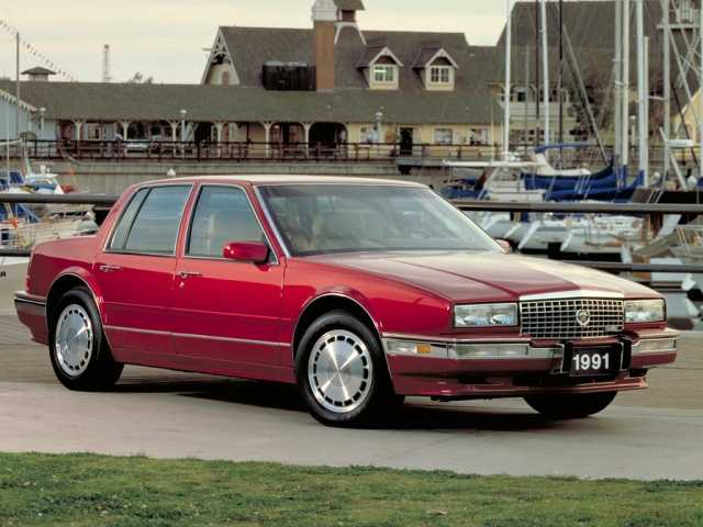 photo Cadillac seville 1986