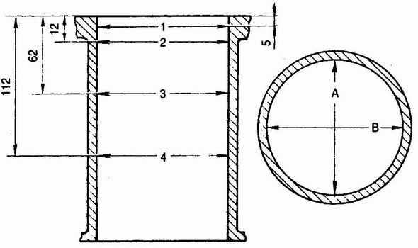 схема измерения цилиндров ваз 2110 фиксатором ваз 2110, ваз 2111, ваз 2112