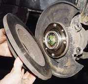 статья про Установка вентилируемых тормозных дисков на ВАЗ 2114