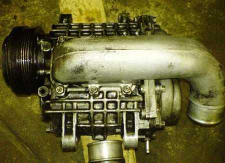 Принудительный наддув (компрессор) на Лада Приора