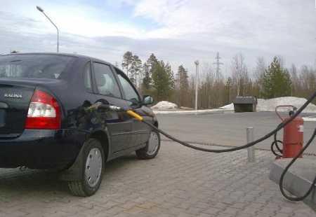 Снижение расхода топлива Лада Калина
